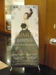 Sumi Jo greets us in the hotel lobby