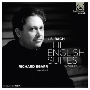 Richard Egarr English Suites